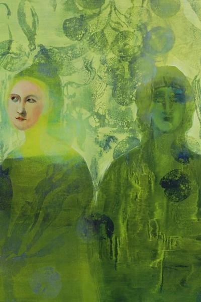 """Valokuva, jossa osa teoksesta """"Missä kielletyt hedelmät kasvaa"""" (2016)"""